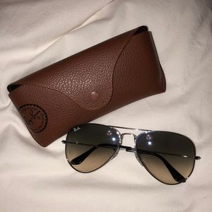 Ray Bans - Gradient Teardrop Aviators